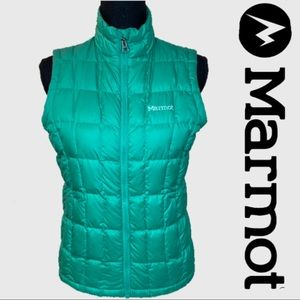 Marmot Green Youth Puffer Vest